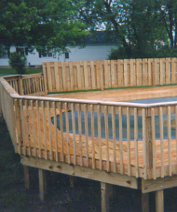 Wooden Deck, Deck Builder, Fence Contractor in Dayton, OH